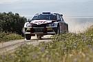 ERC Грязин разбил машину на польском этапе ERC