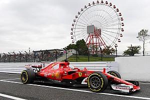 Formula 1 Prove libere Suzuka, Libere 1: Vettel detta il passo con la Ferrari a Mercedes e Red Bull