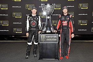 NASCAR Cup Breaking news SHR teammates Harvick and Busch take playoff hit with Loudon DNFs