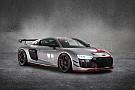 GT L'Audi ha presentato la nuova R8 LMS GT4