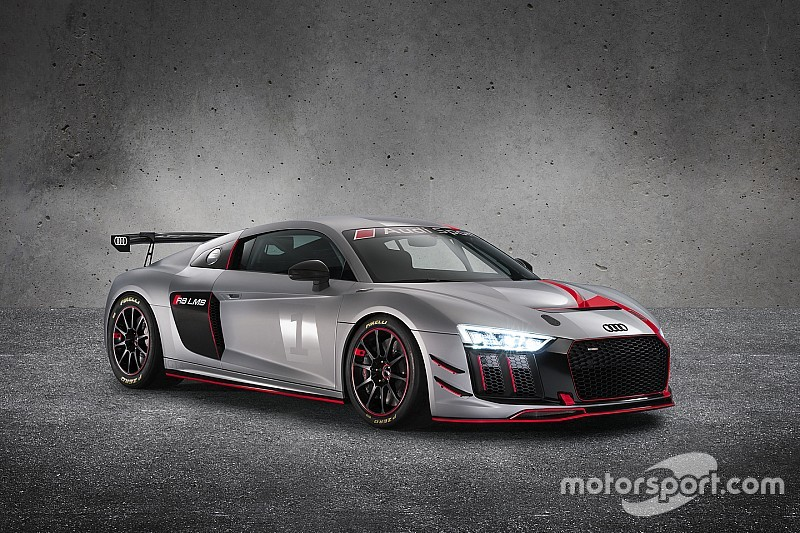 L'Audi ha presentato la nuova R8 LMS GT4