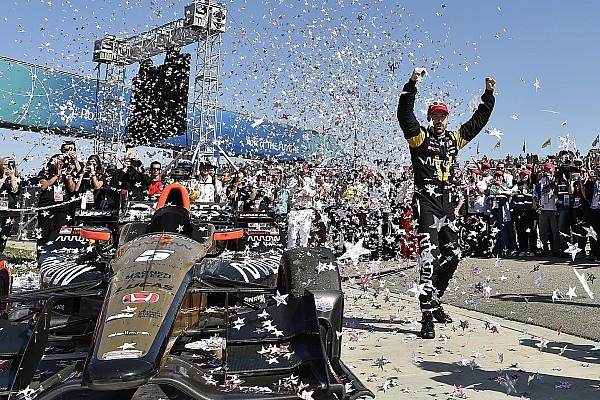 IndyCar Hinchcliffe regresa al triunfo en Long Beach