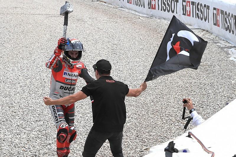 """Lorenzo: """"Ganar dos carreras seguidas con Ducati era impensable hace dos meses"""""""