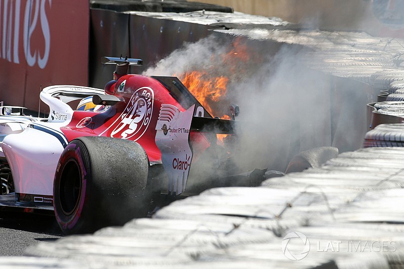 Ericsson to miss FP2 after first practice crash