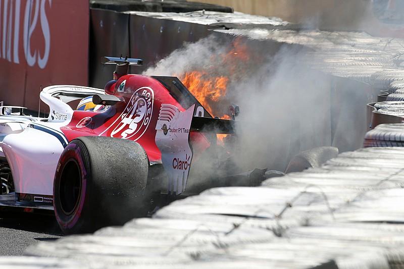 Ericsson kihagyja az FP2-t a Francia GP-n