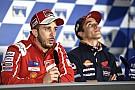 MotoGP Dovizioso está listo para luchar por todo y Márquez ahora es consciente