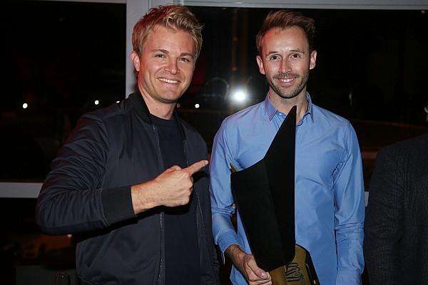 Nico Rosberg bei Rene Rasts Meisterfeier: