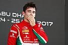 FIA F2 Column: Leclerc over seizoensfinale F2 in Abu Dhabi
