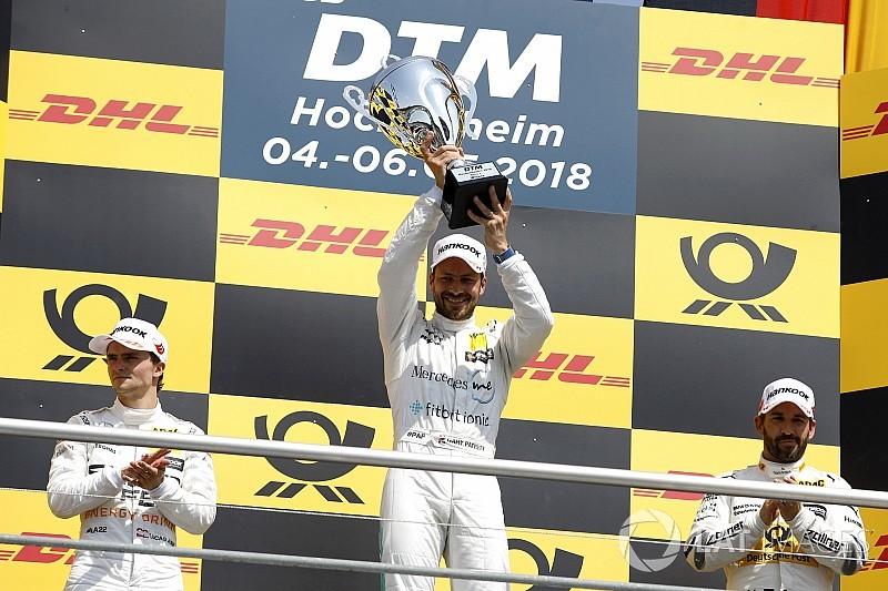 Paffett vence a Auer para llevarse la primera victoria del DTM 2018
