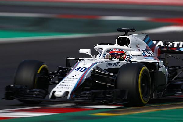 Williams: Kubica não foi mais veloz que pilotos oficiais