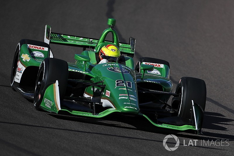 "Pigot ""fully ready"" for full-time IndyCar role"
