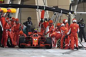Formula 1 Breaking news Injured Ferrari mechanic undergoes successful surgery