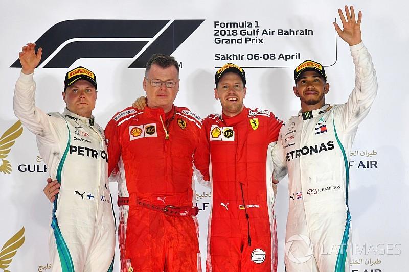 Vettel neutraliza 'nó tático' da Mercedes e vence no Bahrein