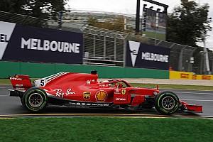 澳大利亚大奖赛FP3:雨过天晴后,法拉利包揽前二