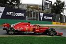 Formule 1  Vettel snelste op opdrogende baan in Melbourne, vierde tijd Verstappen
