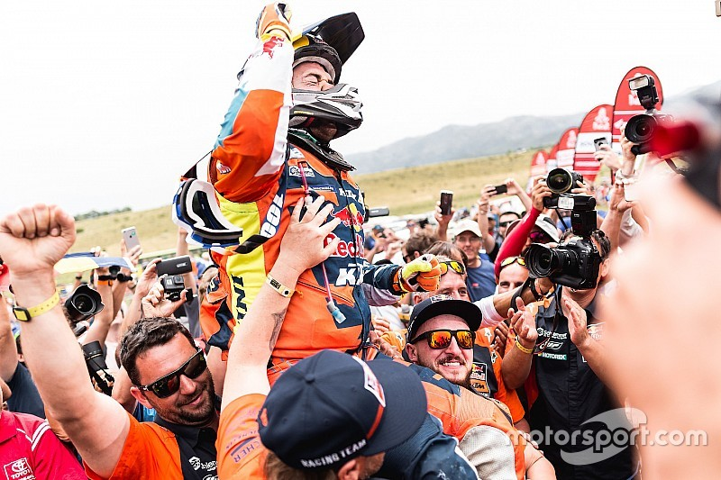 Dakar 2018: Walkner, KTM'in 17. Dakar galibiyetini kazandı
