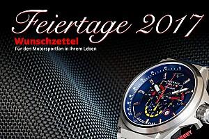 ALLGEMEINES Motorsport.com-News Motorstore.com: Wunschzettel für die Feiertage