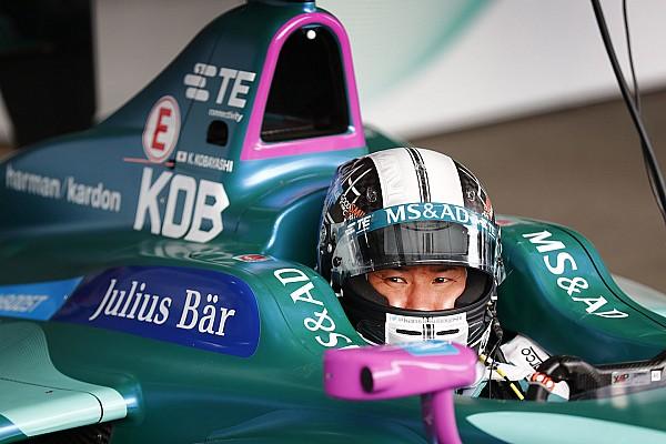 Kobayashi pode manter vaga na Andretti na Fórmula E