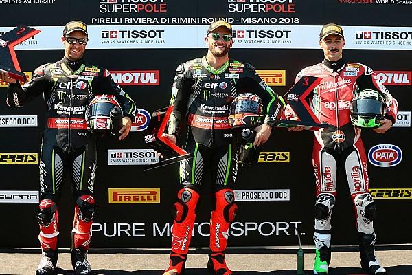 World Superbike Misano WSBK: Sykes beats Rea to pole by 0.033s