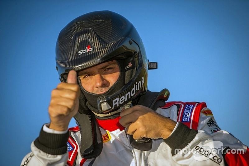 Max Rendina sarà l'apripista del Rally Italia Sardegna 2018