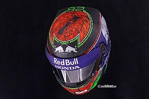 Formule 1 Diaporama Photos - Le casque de Brendon Hartley pour Monaco