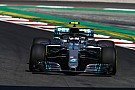 Spanish GP: Bottas leads FP1 by nearly a second