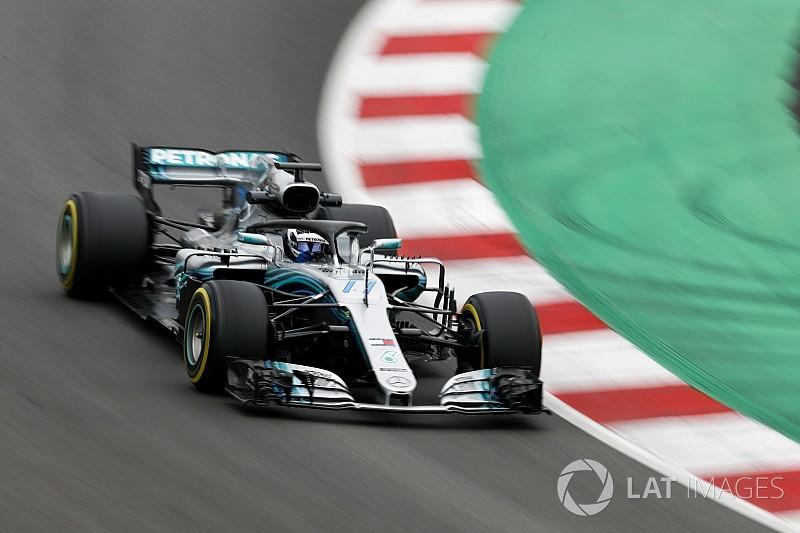 Barcelona F1-test: Bottas en Mercedes snelsten op slotdag