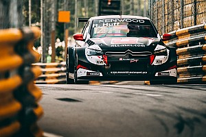 WTCC Qualifying report Macau WTCC: Huff beats Michelisz to take pole