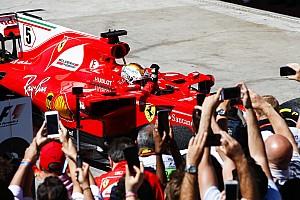 Formula 1 Commento Ferrari: la quinta vittoria di Vettel spazza via l'autunno difficile
