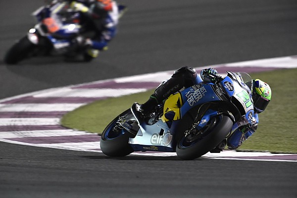 MotoGP Breaking news Morbidelli's Qatar debut pace