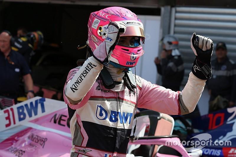 Force India: Ocon superou problemas de freios para ser 6º
