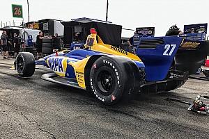 IndyCar News Alexander Rossi: IndyCar-Boliden durch Aeropaket viel besser