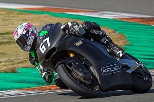 Moto2 Test Primi giri a Valencia per la Kalex con il motore Triumph