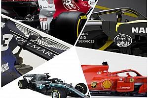 Galeri: Her açıdan 2018 F1 araçları