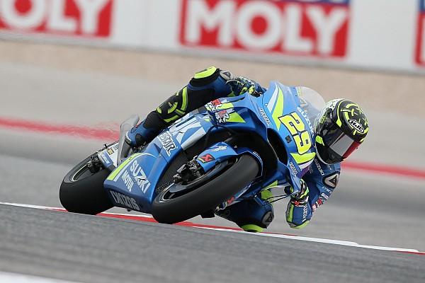 Austin MotoGP: Iannone tops FP2 as Marquez crashes