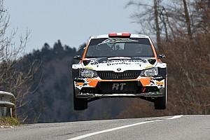Rally Svizzera Tappa Michaël Burri imperiale al Critérium Jurassien