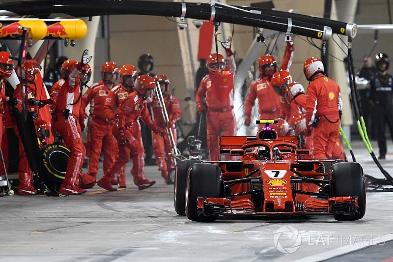 Ferrari leva multa pesada por incidente no pitstop