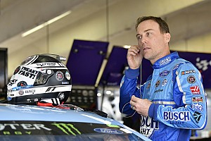 NASCAR Cup Practice report Kevin Harvick fastest in Kansas Cup practice delayed by weepers
