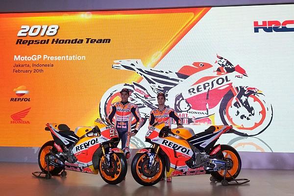 MotoGP Noticias de última hora Honda presenta de forma oficial en Yakarta la moto de Márquez y Pedrosa