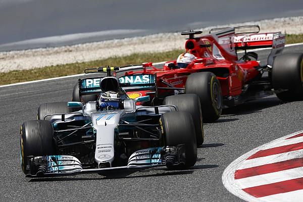 Причина отказа мотора Боттаса в Испании стала уникальной для Mercedes