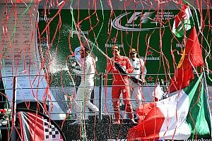 F1 Artículo especial La historia detrás de la foto: los confetis del podio de Monza