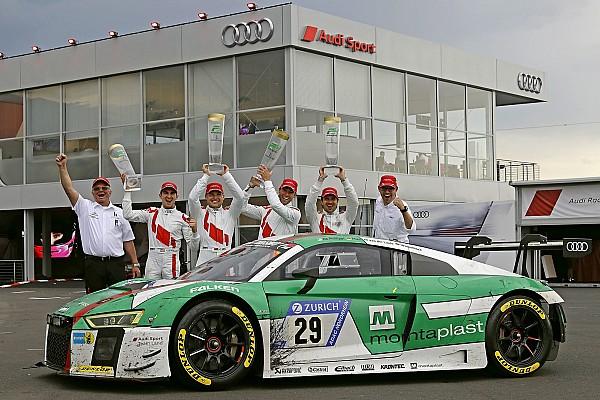 Endurance Breaking news Land Audi's race was