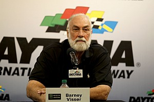 NASCAR Cup Breaking news Furniture Row owner Barney Visser back at the track after heart attack