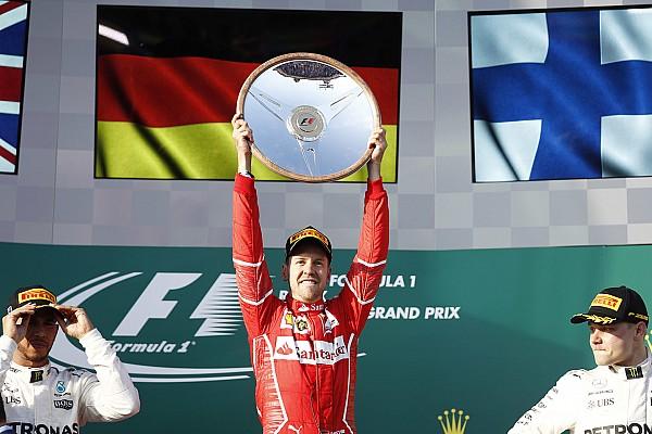 Formel 1 Rennbericht F1-Auftakt 2017 in Melbourne: Sebastian Vettel siegt für Ferrari