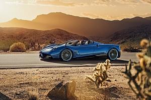 Auto Actualités Les photos de la Pagani Huayra Roadster