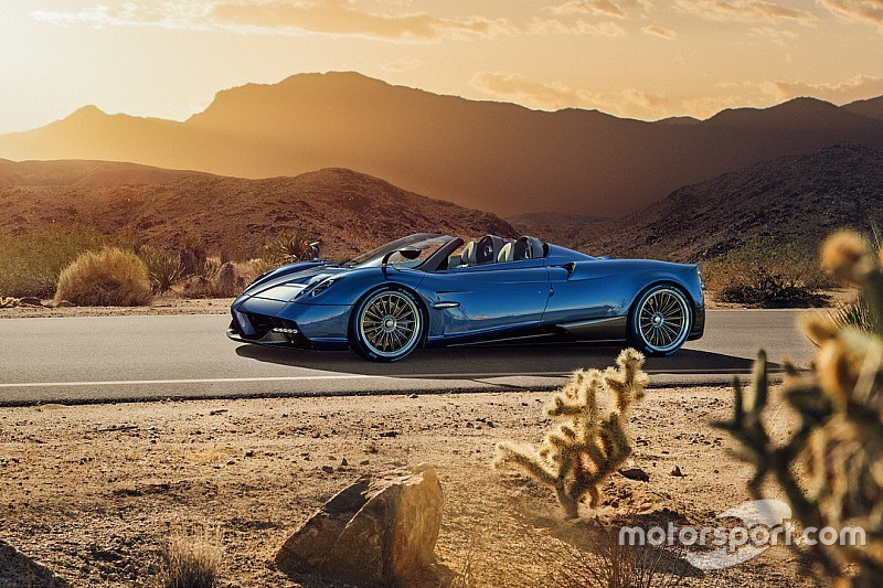 Les photos de la Pagani Huayra Roadster