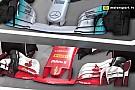 F1 Videoanálisis: los diferentes conceptos de Mercedes y Ferrari