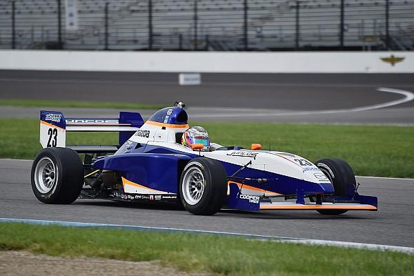 Pro Mazda Indy GP Pro Mazda: Franzoni leads start to finish in Race 2