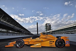 IndyCar Breaking news Livery unveiled for Alonso's Indy 500 campaign