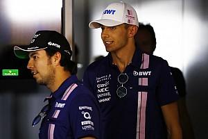 F1 Noticias de última hora A Pérez le sorprendió el rendimiento de Ocon en 2017